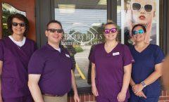 Staff in sunglasses